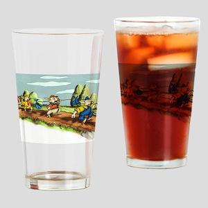 three little pigs Drinking Glass