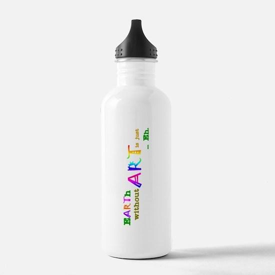 EarthWithoutArt Water Bottle