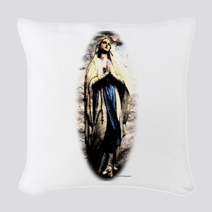 Mary Woven Throw Pillow