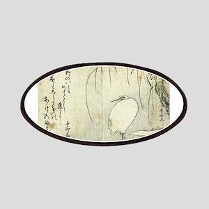 White Heron Beneath A Willow Tree - Shinsai Ryuryu