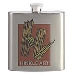 Hinkle Art 1 Flask