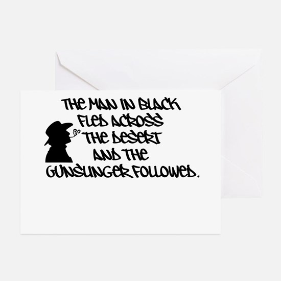 The Man in Black... Greeting Cards (Pk of 10)
