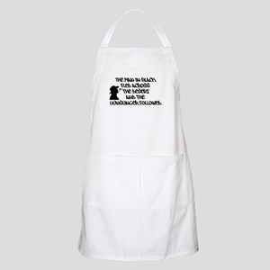 The Man in Black... Apron