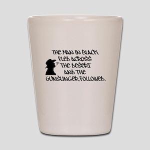 The Man in Black... Shot Glass