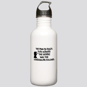 The Man in Black... 1.0L Stainless Water Bottle