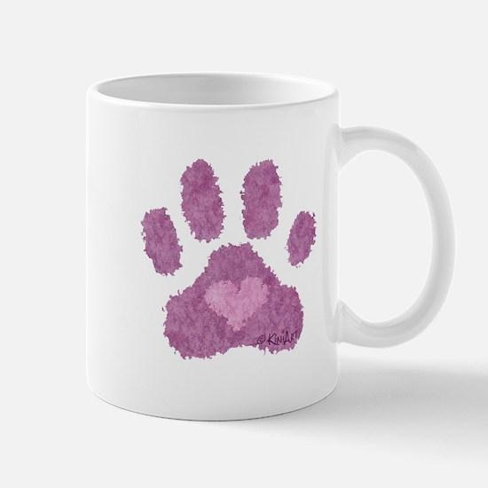 Pink Posh Paw Mug