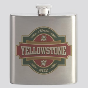 Yellowstone Old Label Flask