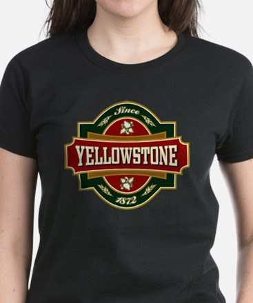 Yellowstone Old Label Women's Dark T-Shirt