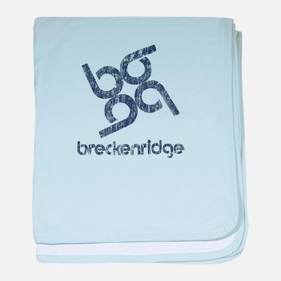 Vintage Breckenridge baby blanket