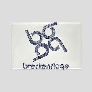 Vintage Breckenridge Rectangle Magnet