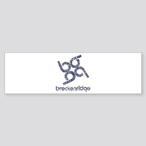 Vintage Breckenridge Bumper Sticker