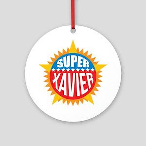 Super Xavier Ornament (Round)