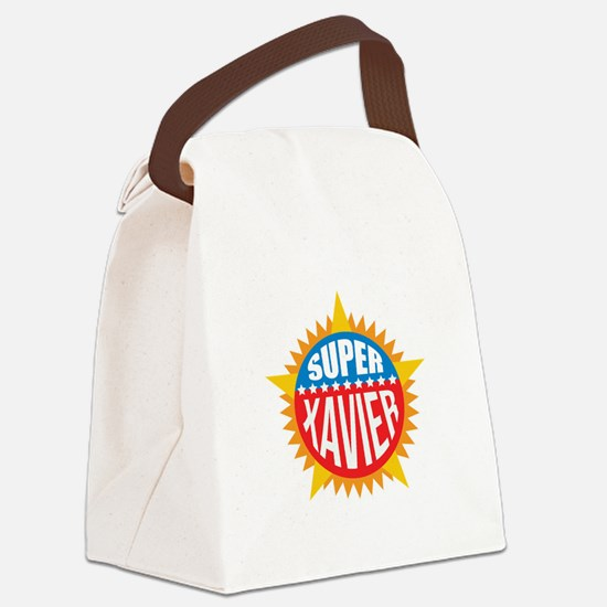 Super Xavier Canvas Lunch Bag