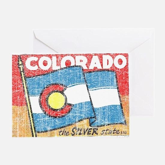Vintage Colorado Greeting Card