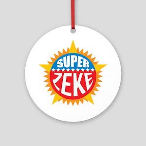 Super Zeke Ornament (Round)