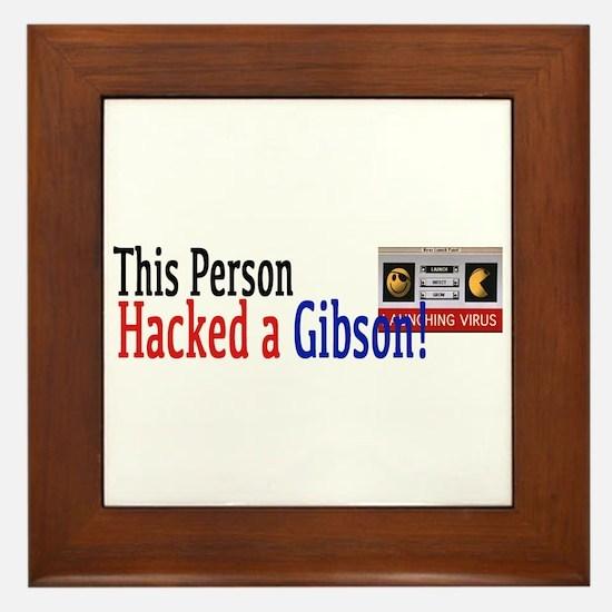 I hacked a gibson Framed Tile
