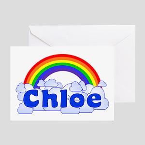 """Chloe Rainbow"" Greeting Cards (Pk of 10)"