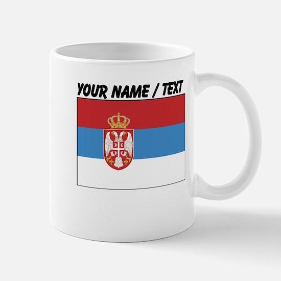Custom Serbia Flag Mug