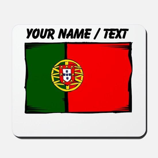 Custom Portugal Flag Mousepad