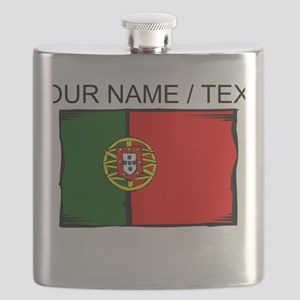 Custom Portugal Flag Flask