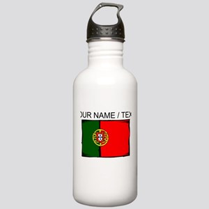 Custom Portugal Flag Water Bottle