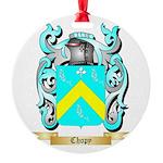 Chopy Round Ornament