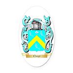 Chopy Oval Car Magnet