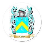 Chopy Round Car Magnet