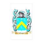 Chopy Sticker (Rectangle 50 pk)