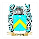 Chopping Square Car Magnet 3