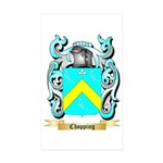Chopping Sticker (Rectangle 50 pk)