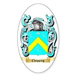 Chopping Sticker (Oval 50 pk)