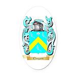 Choppen Oval Car Magnet