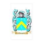 Choppen Sticker (Rectangle 50 pk)