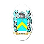 Choppen 20x12 Oval Wall Decal