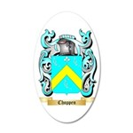 Choppen 35x21 Oval Wall Decal