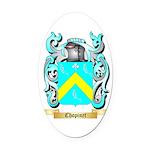 Chopinet Oval Car Magnet