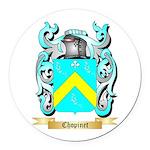 Chopinet Round Car Magnet