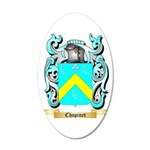 Chopinet 20x12 Oval Wall Decal