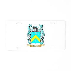 Chopinet Aluminum License Plate