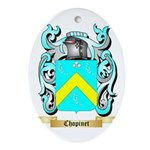 Chopinet Ornament (Oval)