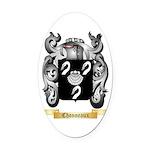 Chonneaux Oval Car Magnet