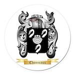 Chonneaux Round Car Magnet