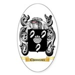 Chonneaux Sticker (Oval 50 pk)