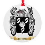 Chonneau Round Ornament