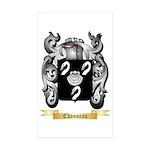 Chonneau Sticker (Rectangle 50 pk)