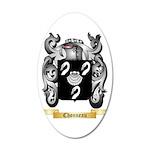 Chonneau 35x21 Oval Wall Decal
