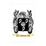 Chonet Sticker (Rectangle 50 pk)