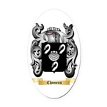 Choneau Oval Car Magnet