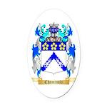 Chominski Oval Car Magnet